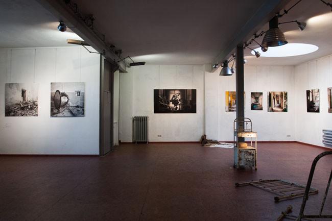 installation view- Huber & Treff Gallery, Jena, 2011