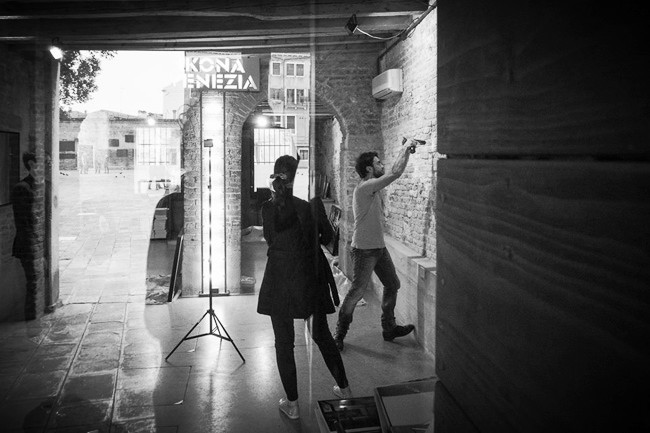 Set-up - IKONA VENEZIA, 2015 (photo: Ilaria Micaglio)