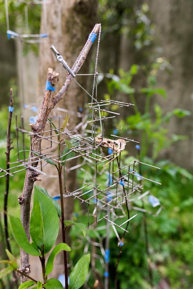 installation view - The Last Garden by Sarah Sze, La Biennale di Venezia 2015, © Ugo Carmeni / Victoria Miro