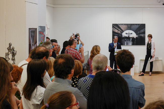 installation view - MA-EC Gallery, Milano, 201