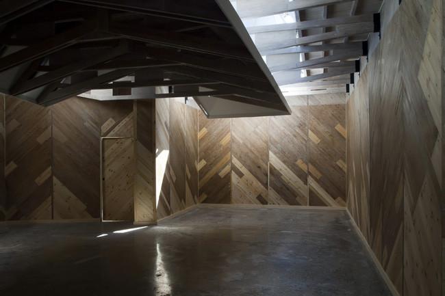 view after reconstruction - Alvar Aalto pavilion