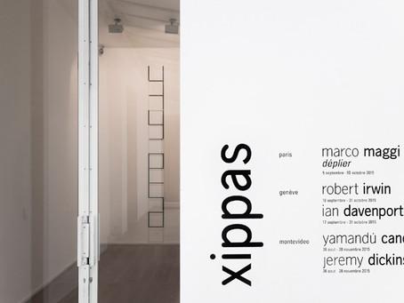 MARCO MAGGI - Xippas gallery, Paris 2015