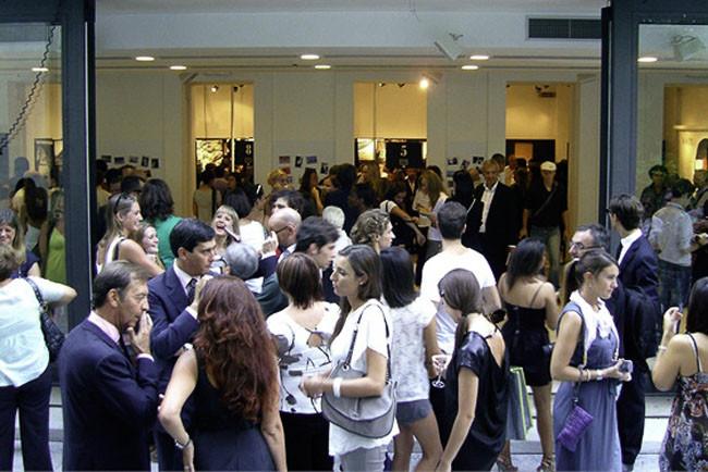 Exhibition's opening - Palazzo Morando, Milano, 2011