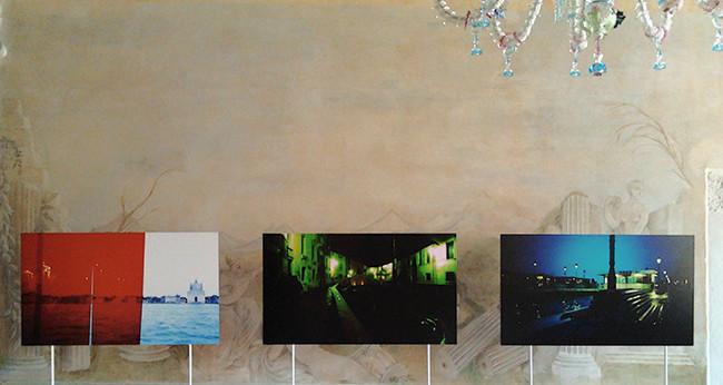 Venice RGB tryptich
