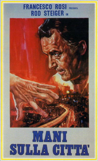 """Poster of the film """"Le mani sulla città"""""""