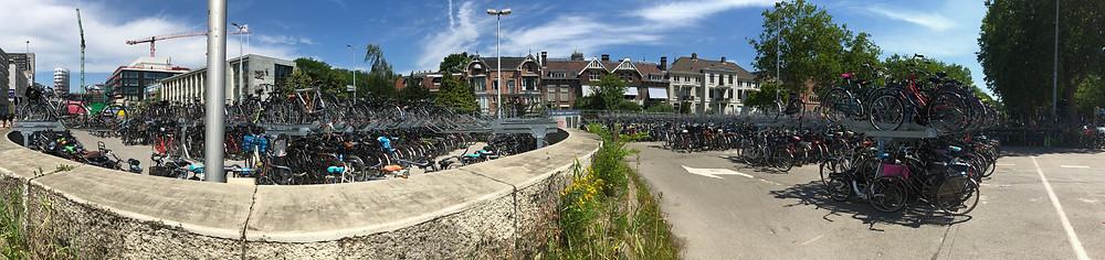 bicycles, utrecht, netherlands, travel, blog