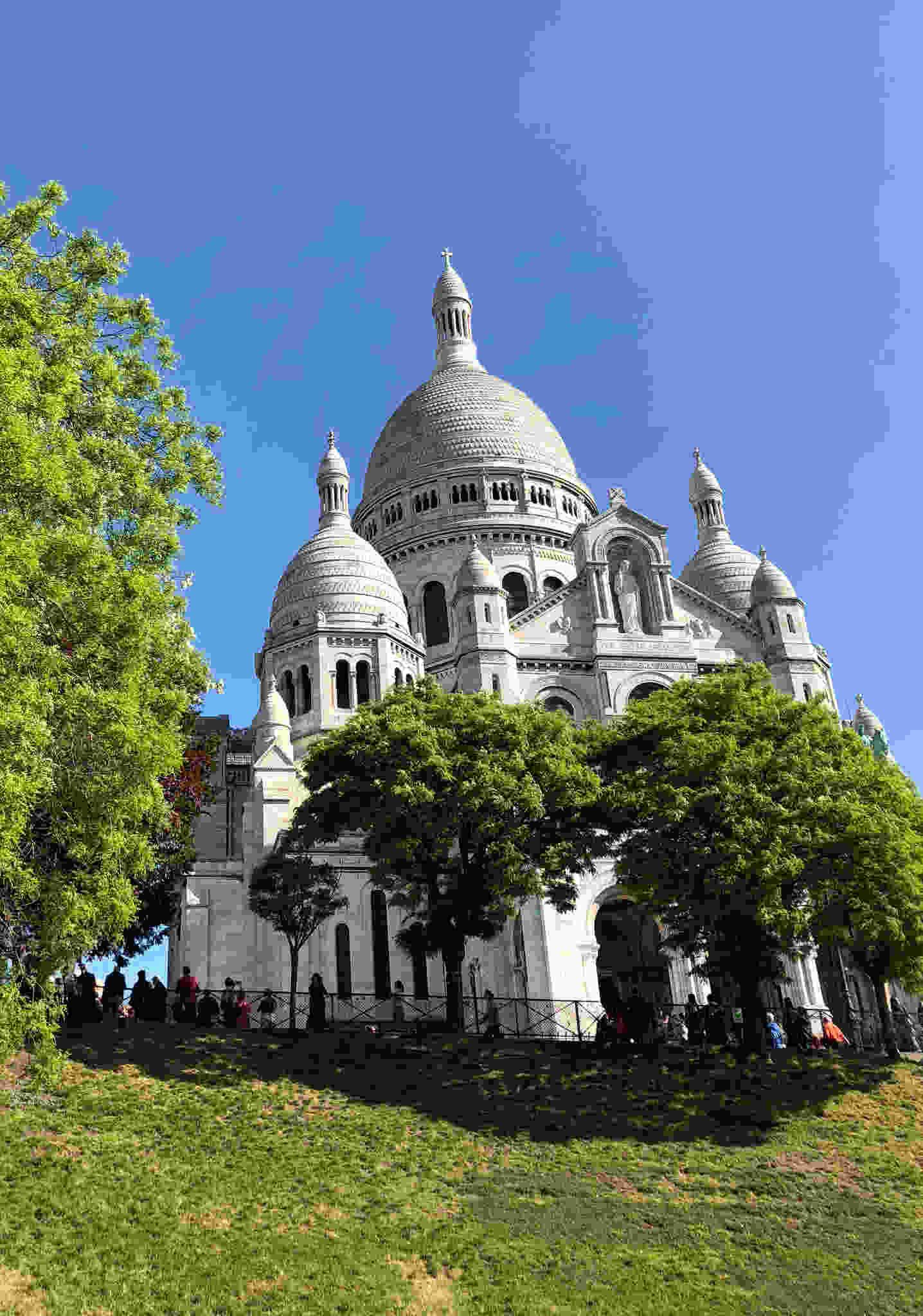 sacre Coeur, Montmartre, Paris, France, historic, travel