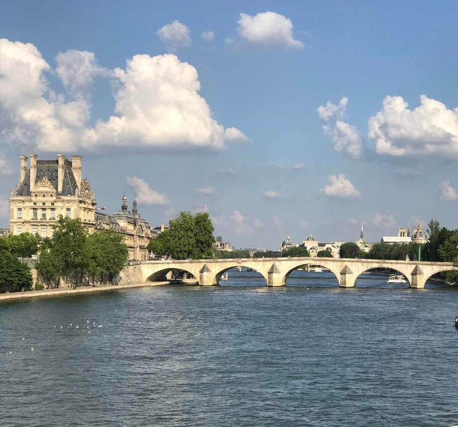 Paris, france, river, seine, history bridge