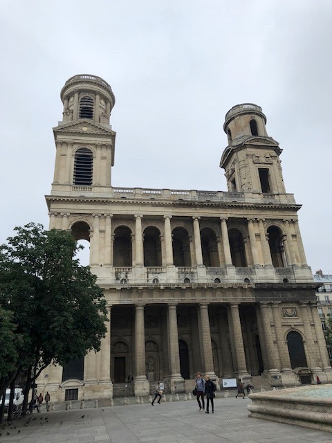 Paris. france, churches, St. Sulpice, history, architecture