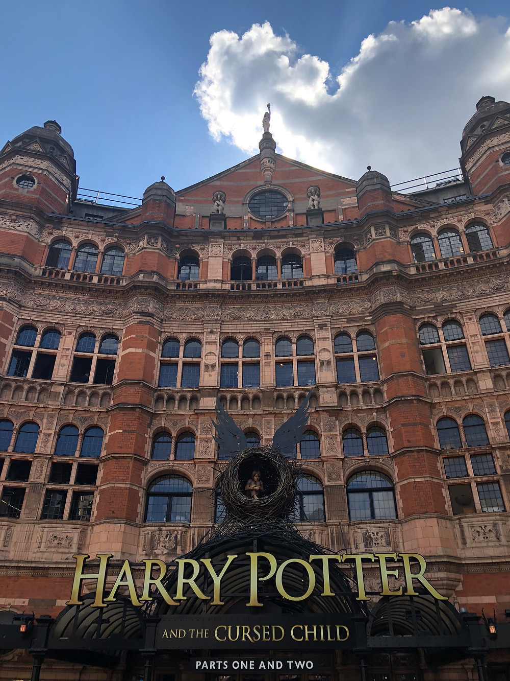 Harry Potter, London, theatre, movies,