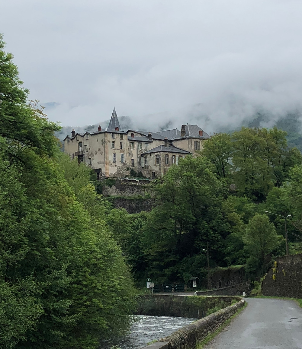 Chateau, Chateau de Gudanes, France, Village,  historic, magical, fairytale
