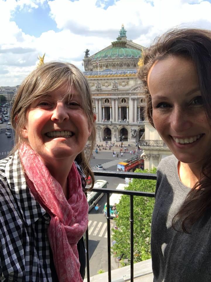 Paris, france, airbnb, historic, view