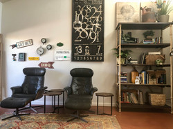 Chairs & Bookcase