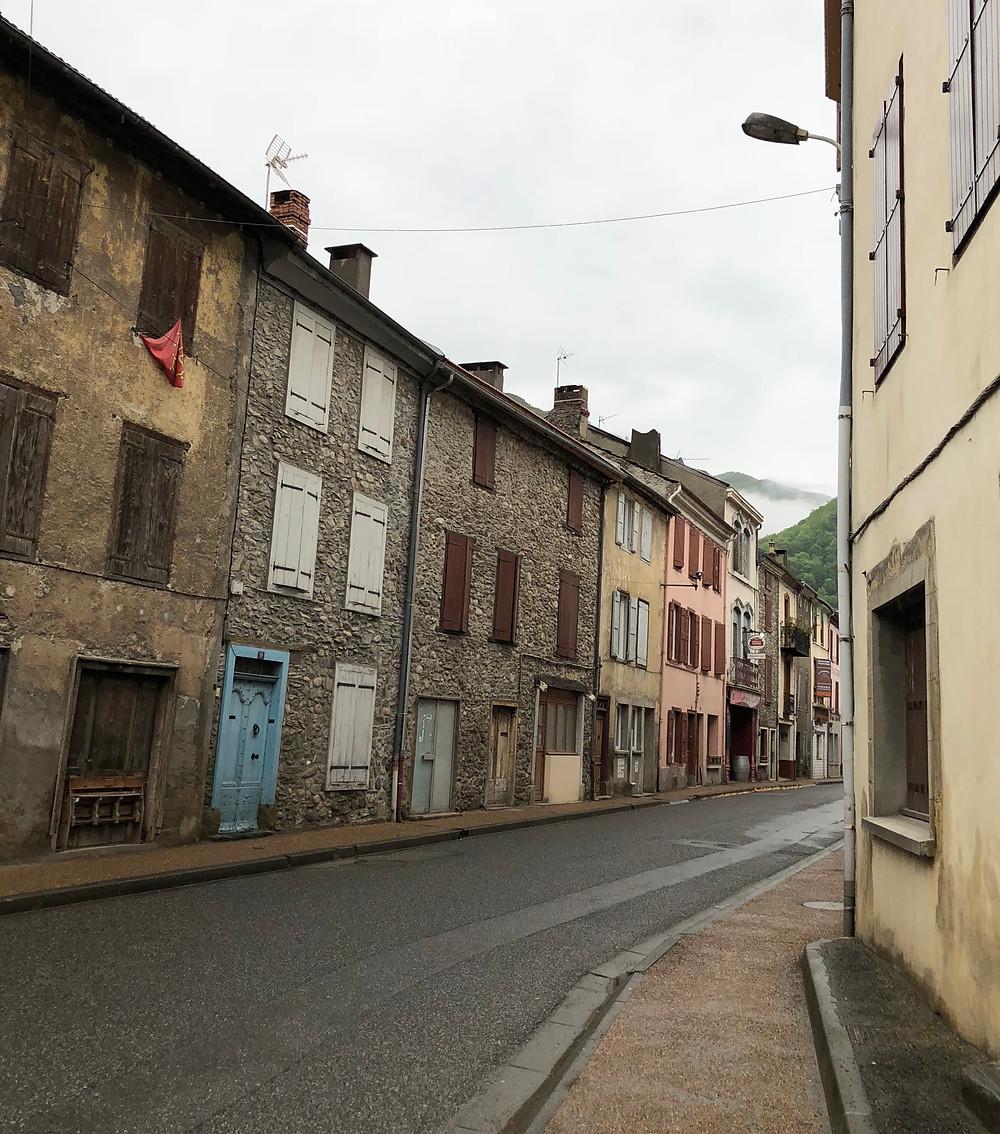 historic, village, houses, cobblestone, off the beaten path, France, travel, adventure