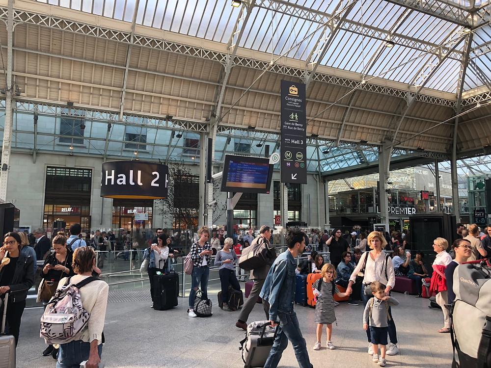 Gare de Lyon, train station, Paris, France,