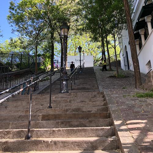 Montmartre, Paris, France, historic, city