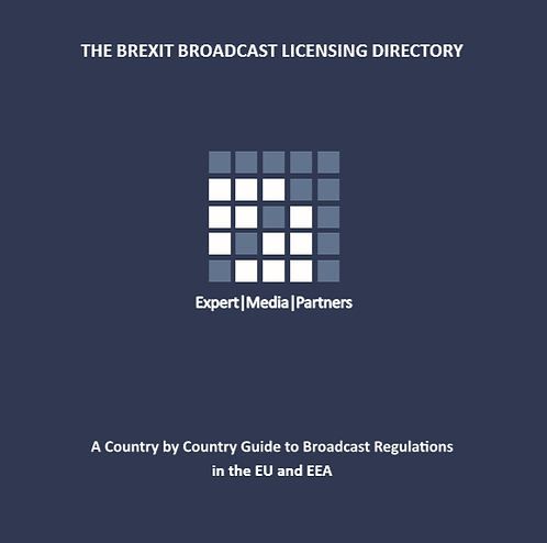 The Brexit Broadcast Licensing Directory