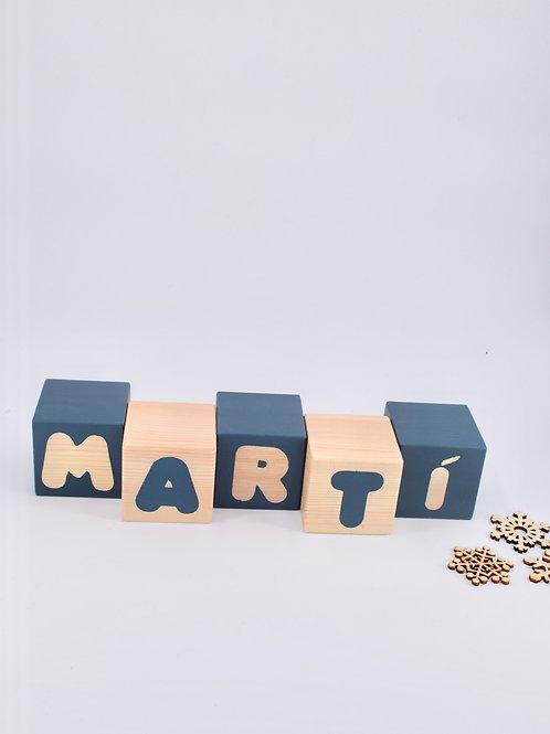 Martí - 5 letras