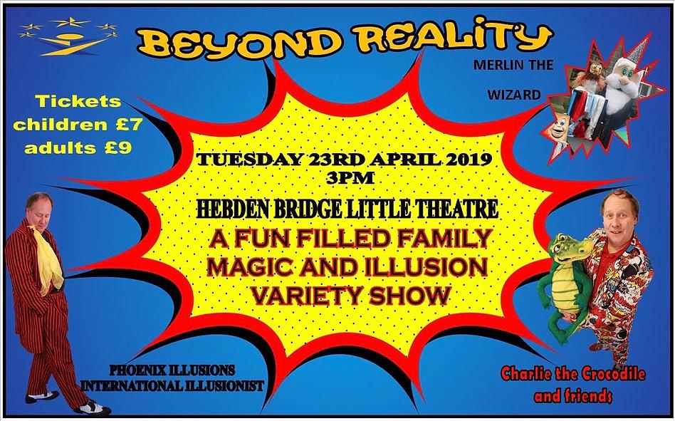 Easter Magic Show Hebden Bridge little t