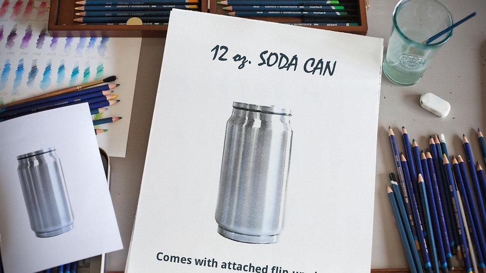 12 oz. SODA CAN
