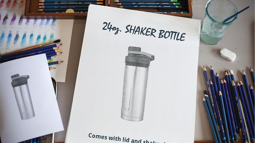 24 oz. SHAKER BOTTLE