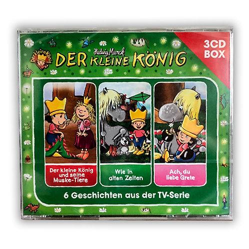 3er CD Box - 6 Geschichten vom kleinen König