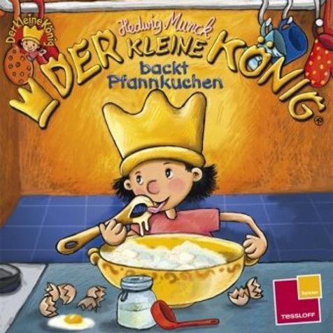 Der kleine König: backt Pfannkuchen Mini Soft Cover