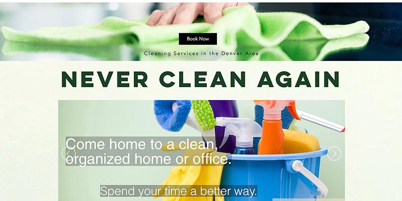 Cleaning Calendar Test Website
