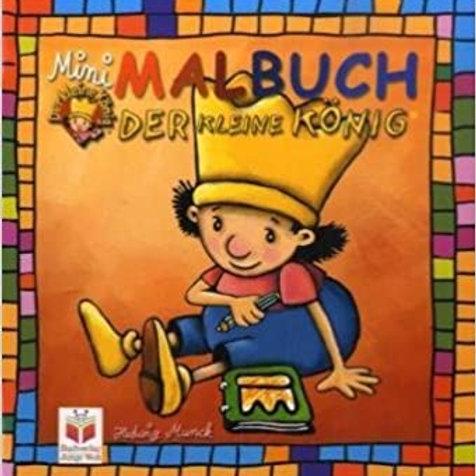 Malbuch Mini - Der kleine König: Rot