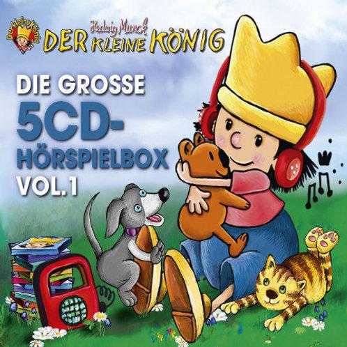 5er CD Hörspielbox vom kleinen König