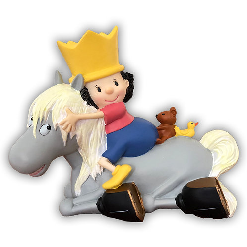 Spardose - Der kleine König und Grete