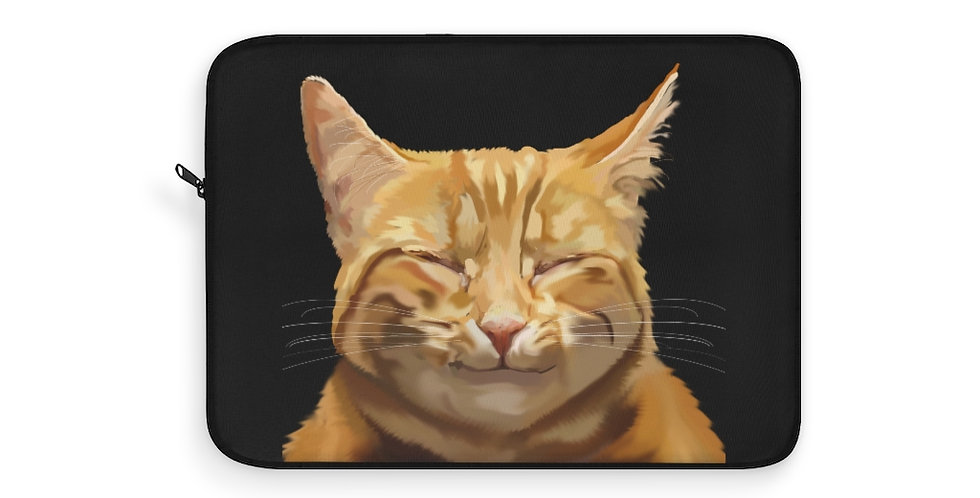 Happy Kitty Laptop Sleeve