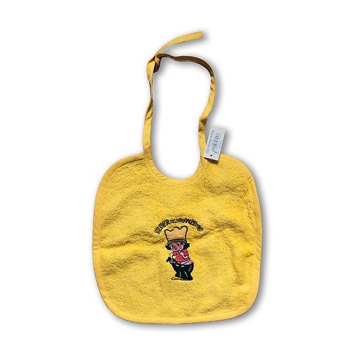 Der kleine König - Baby Latz,  Gelb