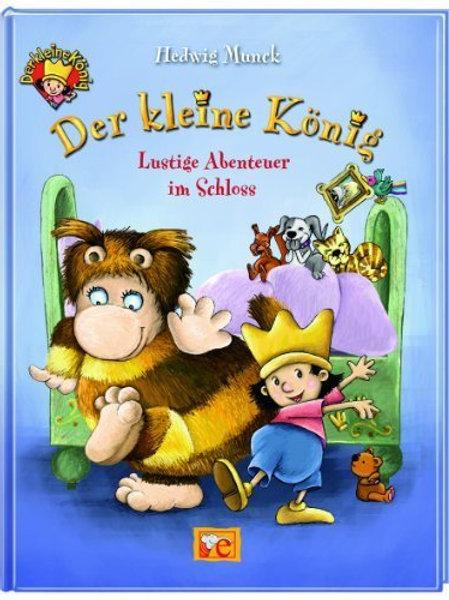 Der kleine König: lustige Abenteuer im Schloss