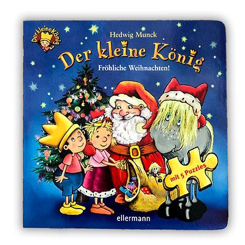 Fröhliche Weihnachten Puzzlebuch, mit 5 Puzzles