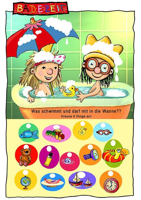 der kleine koenig spiel badewanne