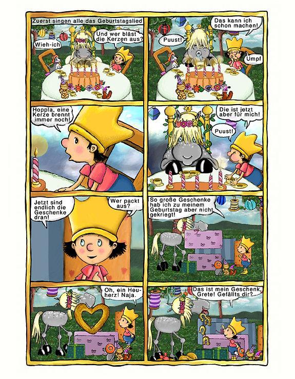der kleine koenig comic 2 hedwig munck website