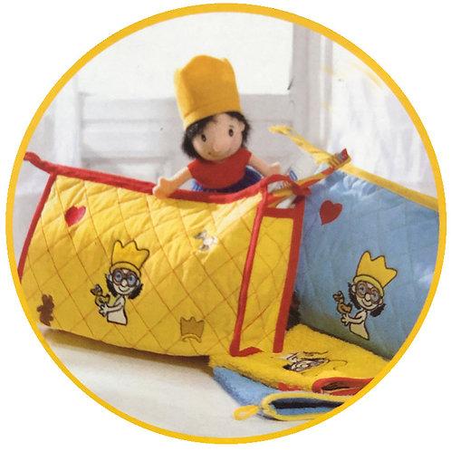Kultur Badetasche in Blau oder Gelb - Der kleine König