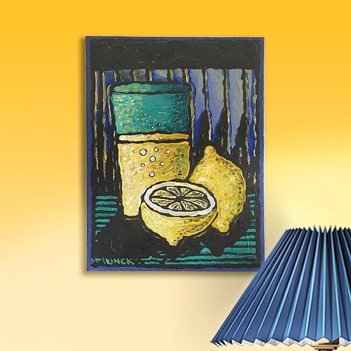Original, -  18x24 cm, Acryl auf Leinwand