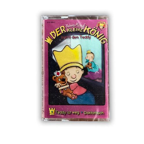 Hörspiel Kassette, der kleine König sucht den Teddy, ca. 31 Min.