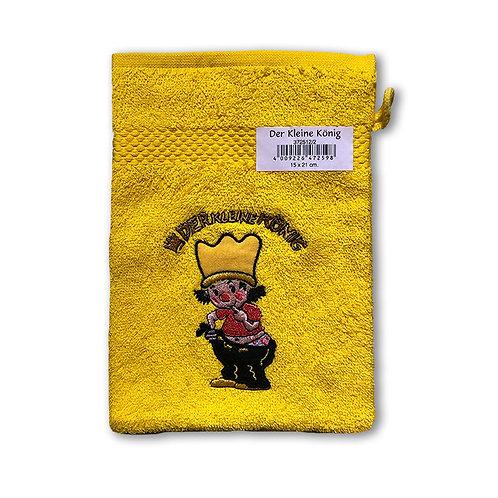 Der kleine König - Waschlappen, Gelb