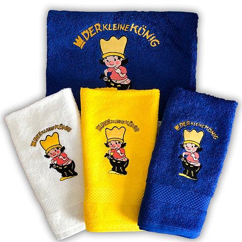 Der kleine König - kleines Handtuch, 3 Farben, 30x50cm