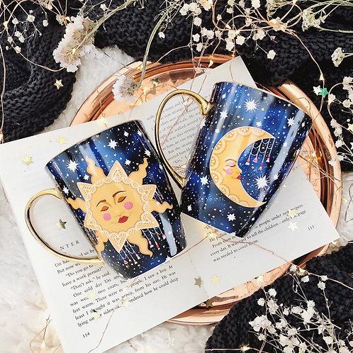 Sun & Moon Mug (2 Style Options) 🇦🇺