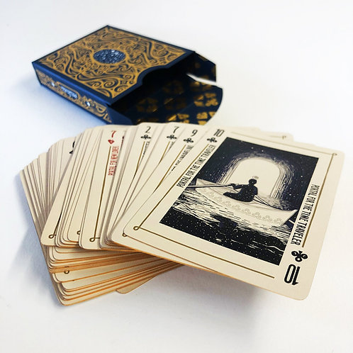 Open Portals Playing Cards & Game (Lightside Non-gilded Version)