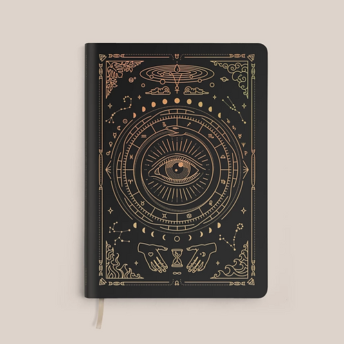 Magic of I Vegan Leather Journal - Black