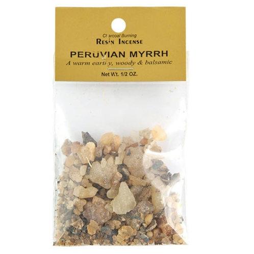 Peruvian Myrrh Resin