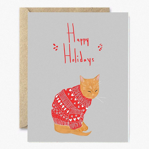Ugly Christmas Sweater Greeting Card