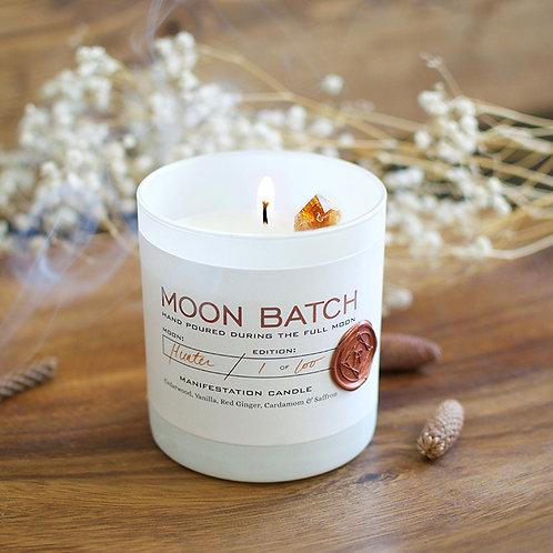 Moon Batch Candle (Bonfire Blend - Citrine)