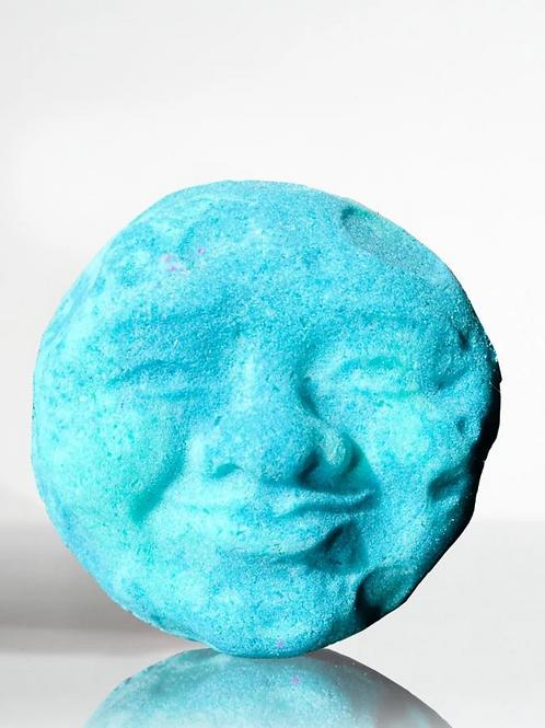 Crystal Bath Bomb (Moon Made Me Do It - Blue Dalmatian Jasper)