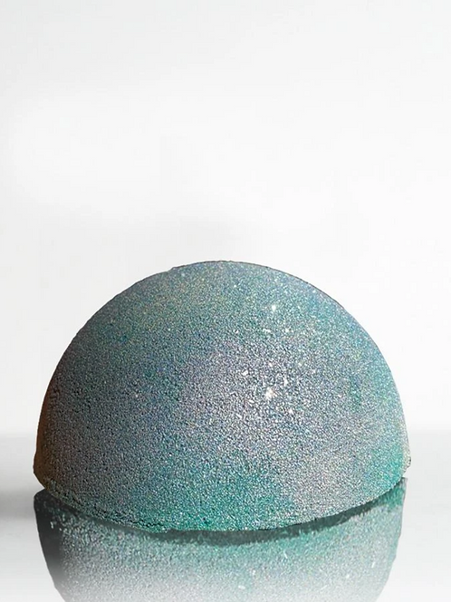Crystal Bath Bomb (Other Half of The Moon - Blue Tiger Eye)